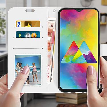 Acheter Avizar Etui folio Blanc pour Samsung Galaxy M20