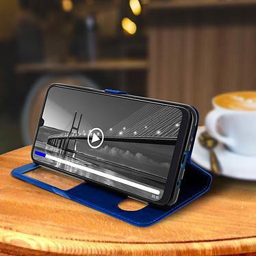 Avis Avizar Etui folio Bleu pour Samsung Galaxy A50 , Samsung Galaxy A30s