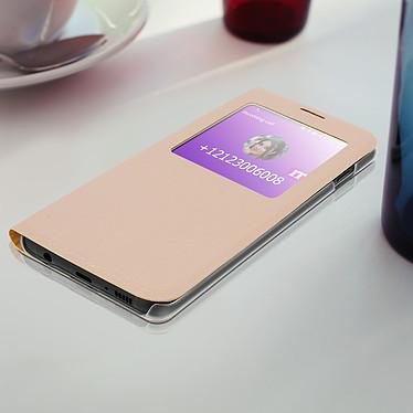 Acheter Avizar Etui folio Dorée à fenêtre pour Samsung Galaxy S10e