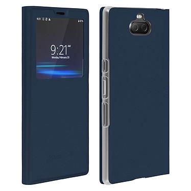 Avizar Etui folio Bleu Nuit pour Sony Xperia 10 Etui folio Bleu Nuit Sony Xperia 10