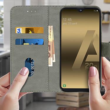 Acheter Avizar Etui folio Gris pour Samsung Galaxy A20e