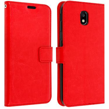 Avizar Etui folio Rouge pour Samsung Galaxy J5 2017 Etui folio Rouge Samsung Galaxy J5 2017