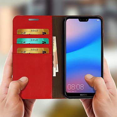 Acheter Avizar Etui folio Rouge pour Huawei P20 Lite