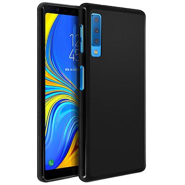 Avizar Coque Noir pour Samsung Galaxy A7 2018 pas cher