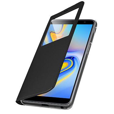 Avizar Etui folio Noir pour Samsung Galaxy J6 Plus pas cher