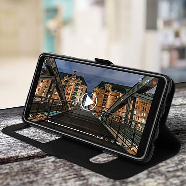 Acheter Avizar Etui folio Noir pour Samsung Galaxy A9 2018