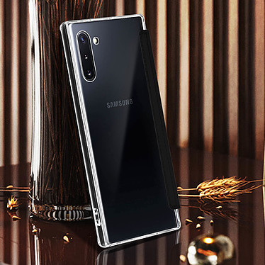 Avis Avizar Etui folio Noir Miroir pour Samsung Galaxy Note 10