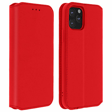 Avizar Etui folio Rouge Éco-cuir pour Apple iPhone 11 Pro Etui folio Rouge éco-cuir Apple iPhone 11 Pro