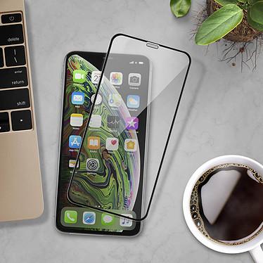 Avis Avizar Film verre trempé Noir pour Apple iPhone XS Max, Apple iPhone 11 Pro Max