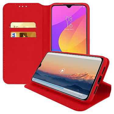 Avizar Etui folio Rouge pour Xiaomi Mi 9 Lite pas cher