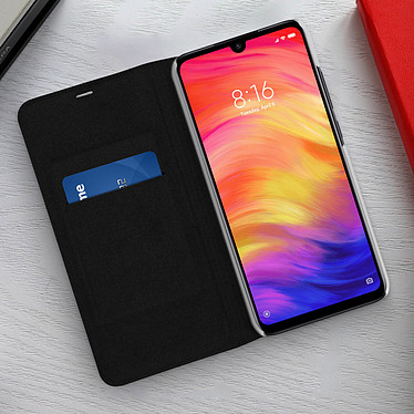Acheter Avizar Etui folio Noir pour Xiaomi Redmi Note 7