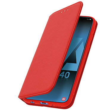 Avizar Etui folio Rouge pour Samsung Galaxy A40 Etui folio Rouge Samsung Galaxy A40