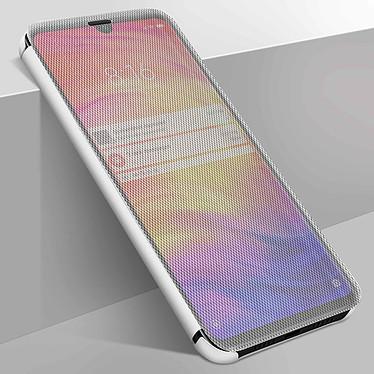 Avizar Etui folio Argent pour Xiaomi Redmi Note 7 pas cher