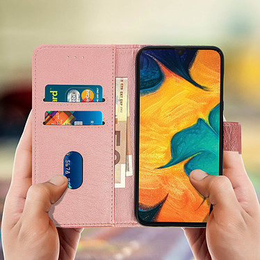 Acheter Avizar Etui folio Rose Champagne pour Samsung Galaxy A30
