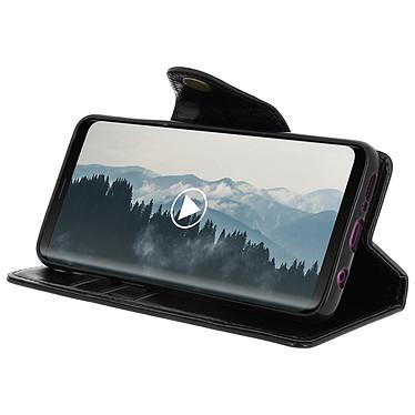 Avis Avizar Etui folio Noir Éco-cuir pour Samsung Galaxy S9