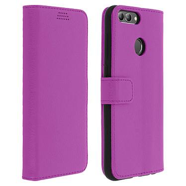 Avizar Etui folio Violet pour Huawei P Smart Etui folio Violet Huawei P Smart
