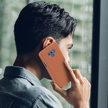 Acheter Avizar Etui folio Rose Champagne Translucide pour Samsung Galaxy Note 9