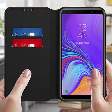 Avis Avizar Etui folio Noir pour Samsung Galaxy A7 2018