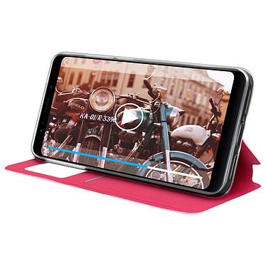 Avis Avizar Etui folio Rose pour Xiaomi Redmi 5