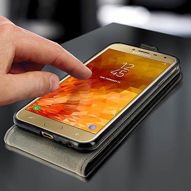 Acheter Avizar Etui à clapet Noir pour Samsung Galaxy J4 Plus