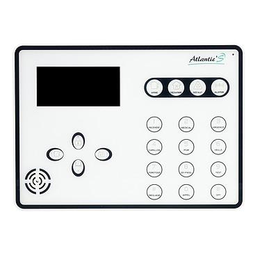 Atlantic'S ATEOS - Alarme de maison sans fil GSM Kit 11 (MD-334R) pas cher