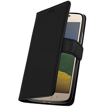 Avizar Etui folio Noir pour Motorola Moto G5 , Lenovo Moto G5 Etui folio Noir Motorola Moto G5 , Lenovo Moto G5