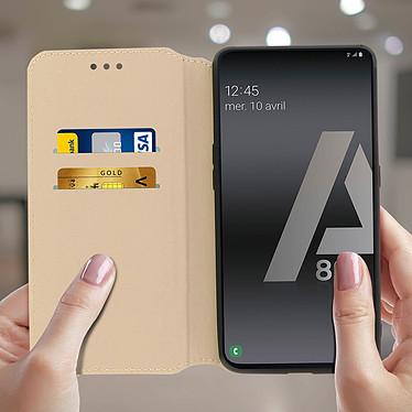 Acheter Avizar Etui folio Dorée pour Samsung Galaxy A80