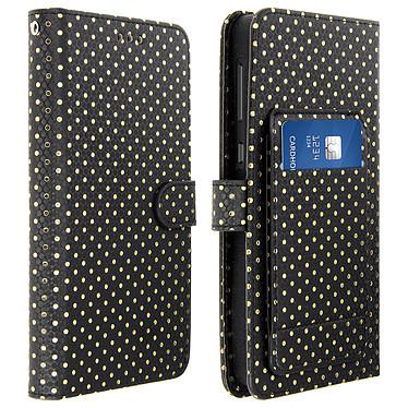 Avizar Etui folio Noir pour Smartphones de 5.3' à 5.5' Etui folio Noir Smartphones de 5.3' à 5.5'