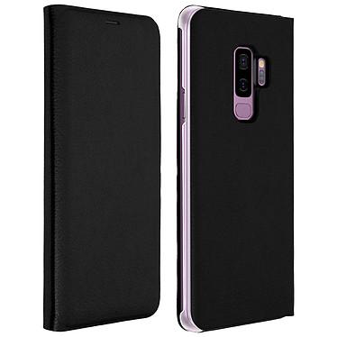 Avizar Etui folio Noir Éco-cuir pour Samsung Galaxy S9 Plus Etui folio Noir éco-cuir Samsung Galaxy S9 Plus