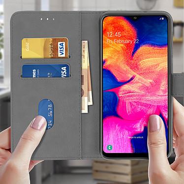 Acheter Avizar Etui folio Gris pour Samsung Galaxy A10