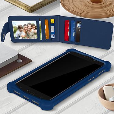 Acheter Avizar Coque Bleu Nuit pour Compatibles avec Smartphones de 4,7 à 5,0 pouces