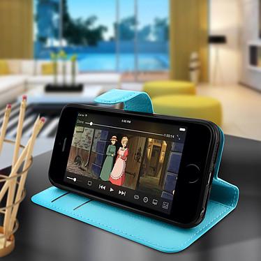 Avis Avizar Etui folio Bleu pour Apple iPhone 5 , Apple iPhone 5S , Apple iPhone SE