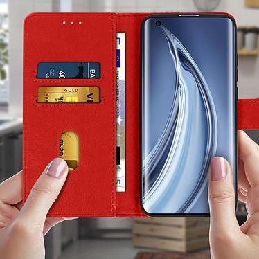 Acheter Avizar Etui folio Rouge pour Xiaomi Mi 10 , Xiaomi Mi 10 Pro