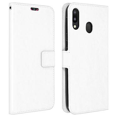 Avizar Etui folio Blanc pour Samsung Galaxy M20 Etui folio Blanc Samsung Galaxy M20