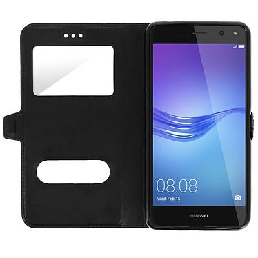 Acheter Avizar Etui folio Noir pour Huawei Y6 2017