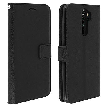 Avizar Etui folio Noir pour Xiaomi Redmi Note 8 Pro Etui folio Noir Xiaomi Redmi Note 8 Pro