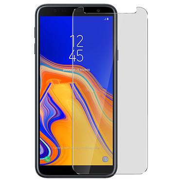 Avizar Film verre trempé Transparent pour Samsung Galaxy J4 Plus pas cher
