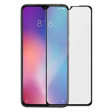 Avizar Film verre trempé Noir pour Xiaomi Mi 9 pas cher