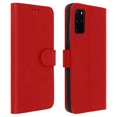 Avizar Etui folio Rouge pour Samsung Galaxy S20 Plus Etui folio Rouge Samsung Galaxy S20 Plus