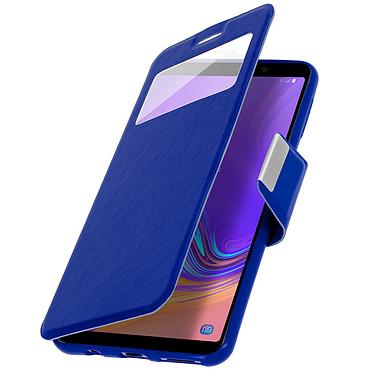Avizar Etui folio Bleu pour Samsung Galaxy A7 2018 pas cher