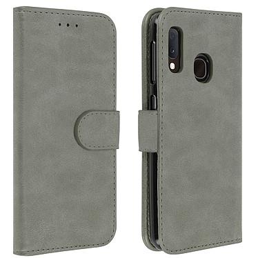 Avizar Etui folio Gris pour Samsung Galaxy A20e Etui folio Gris Samsung Galaxy A20e