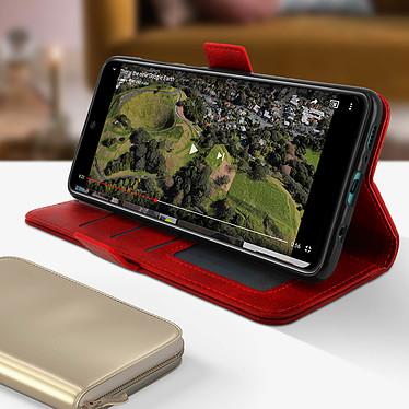 Avis Avizar Etui folio Rouge pour Samsung Galaxy A71