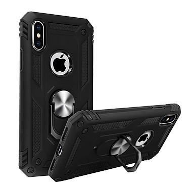 Avizar Coque Noir Bague de maintien pour Apple iPhone XS Max pas cher