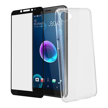 Avizar Pack protection Noir pour HTC Desire 12 pas cher
