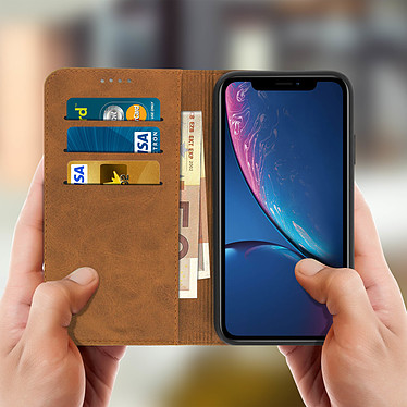 Acheter Avizar Etui folio Camel pour Apple iPhone XR
