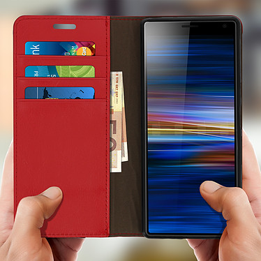 Acheter Avizar Etui folio Rouge pour Sony Xperia 10