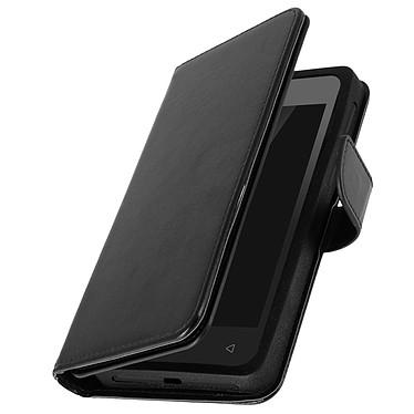 Avizar Etui folio Noir pour Smartphones de 5.0' à 5.3' pas cher