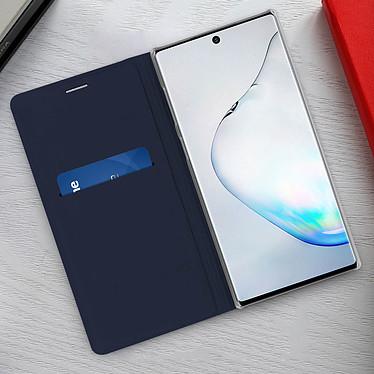 Acheter Avizar Etui folio Bleu Nuit Porte-Carte pour Samsung Galaxy Note 10