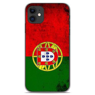 1001 Coques Coque silicone gel Apple iPhone 11 motif Drapeau Portugal Coque silicone gel Apple iPhone 11 motif Drapeau Portugal