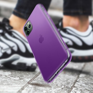 Avis Avizar Coque Violet Souple pour Apple iPhone 11 Pro Max